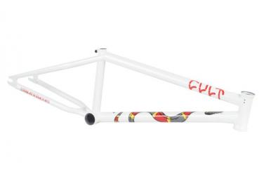 Cadre BMX Cult Chase Hawk Blanc
