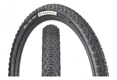 Teravail Rutland - Neumático de grava de 27.5'' sin cámara, plegable, duradero, de talón a talón