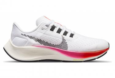 Nike Air Zoom Pegasus 38 Blanco Rosa Niños Zapatillas Running
