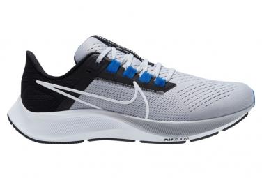 Nike Air Zoom Pegasus 38 Gray Blue Mens Running Shoes