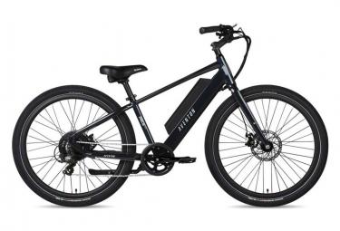 Bicicleta De Ciudad Electrica Aventon Pace 250 Shimano Altus 7s 250 Wh 650b Azul Oscuro 2021 L   180 193 Cm