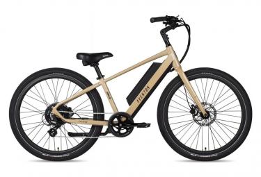 Bicicleta Electrica Urbana Aventon Pace 250 Shimano Altus 7s 250 Wh 650b Arena 2021 M   170 180 Cm