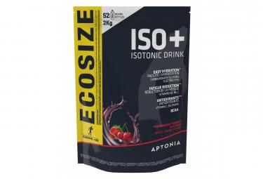 Boisson Énergétique Aptonia Poudre Iso+ Fruits Rouges 2kg