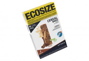 10 Barres Énergétiques Aptonia Clak Céréales Chocolat 21g