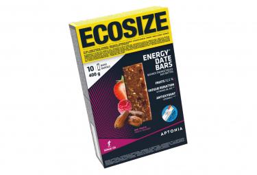 10 Barres Énergétiques Aptonia Energy Fruits Rouges 40g