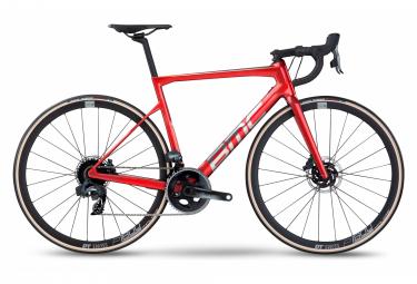 Vélo de Route BMC Teammachine SLR Two Sram Force eTap AXS 12V 700 mm Rouge Iron Brushed 2022