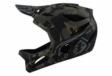 Casque Intégral Troy Lee Designs Stage Mips Camo / Olive
