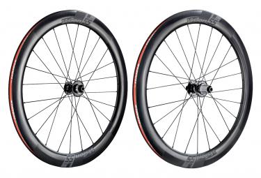 Paire de Roues Vision TC 55 Disc Carbon Tubeless Ready   12x100 - 12x142mm   Centerlock