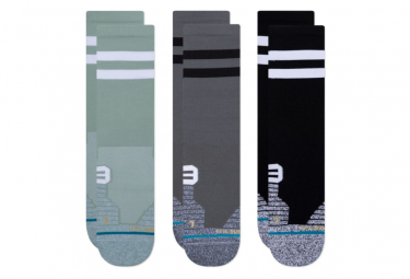 Chaussettes Stance Franchise Crew 3 Pack Multi