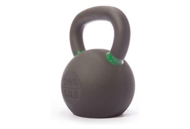 Kettlebell Gorilla Grip 24kg Noir / Vert