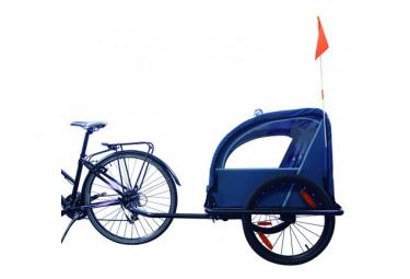 Bicicleta Original Remolque Acero Serie 100 índigo