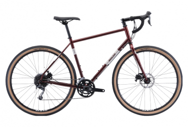 Gravel Bike Breezer Radar Experte Panaché 9S 700mm Kirschrot 2021