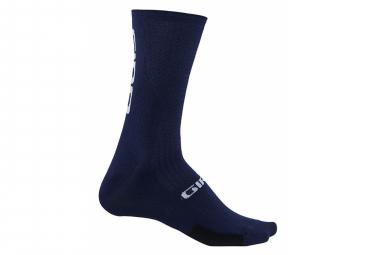 Calcetines Giro Hrc Teams Azul Marino   Blanco 40 42