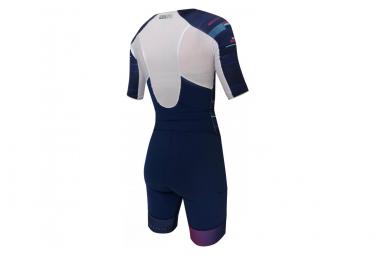 Combinaison Trifonction Femme Zerod Racer Bleu