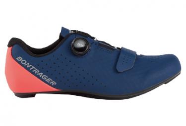Bontrager Circuit Zapatillas náuticas azul marino / coral radiactivo / azul / rosa