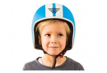 Casque bobbi bleu certifié vélo, ski et roller 51-55cm