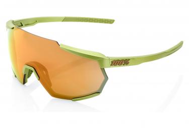 Occhiali da sole 100% Racetrap Matte Metallic Viperidae / Bronze