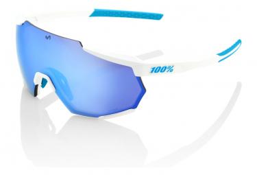 Gafas 100% Racetrap white blue UV catégorie 3