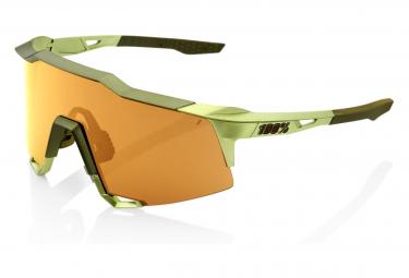 Occhiali da sole 100% Speedcraft Matte Metallic Viperidae / Bronze