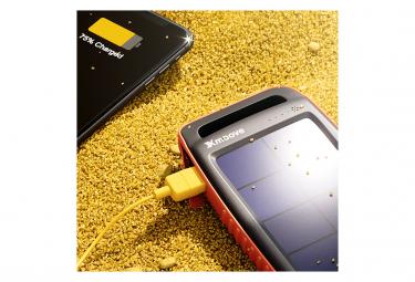 Batterie externe solaire 15 000mAh