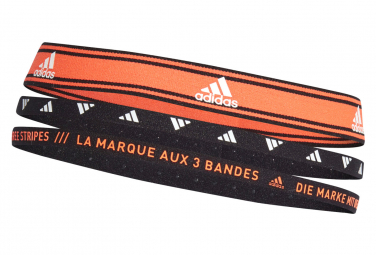 Mini Headband adidas Training Headbands Orange / Noir