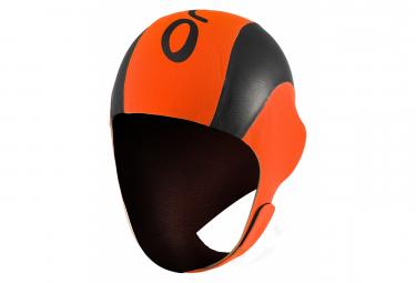 Bonnet Néoprène ORCA NEO SWIM Cap Orange Noir