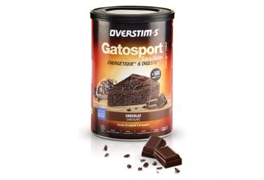Gâteau Energétique Overstims Gatosport SANS GLUTEN Chocolat 400g
