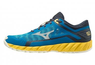 Chaussures de Trail Mizuno Wave Ibuki 3 Bleu / Jaune
