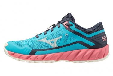 Chaussures de Trail Femme Mizuno Wave Ibuki 3 Bleu / Multi-couleur