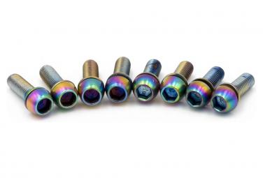 Kit mit 8 Schrauben für Titel DM1 Oil Slick Stem