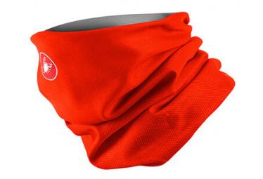 Tour de cou Castelli Pro Thermal Rouge