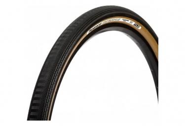 Panaracer GravelKing Semi Slick TLC Gravel Neumático 700 mm Tubeless Ready Plegable Negro / Beige