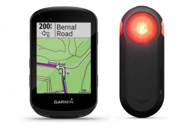 Compteur GPS Garmin Pack Edge 530 + Varia RTL 515