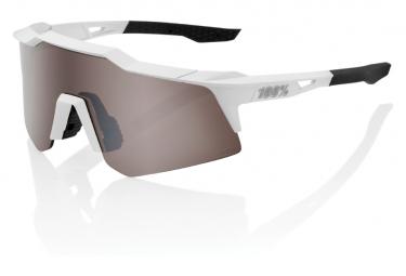 Gafas 100% Speedcraft XS white grey HiPER Lens