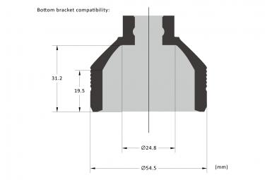 Birzman BB Socket Hollowtech II