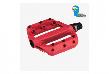Pédales Junior SDG SLATER Red 90mmx90mm