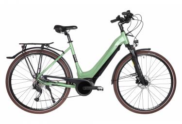 Bicyklet Victoire Bicicletta elettrica da città Shimano Alivio 9V 400 Wh 700 mm Legno Verde 2021