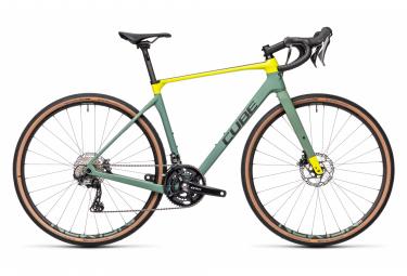 Gravel Bike Cube Nuroad C:62 Race Shimano GRX 11V Vert / Jaune / Fluo