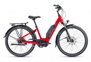 Bicicleta eléctrica urbana Gitane e-City Steps 28'' Shimano Nexus 5S 418Wh Ruby Red 2021