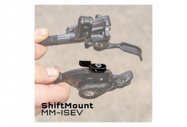 Wolf Tooth ShiftMount MM-ISEV para manetas de cambio Sram MatchMaker y frenos Shimano I-Spec EV