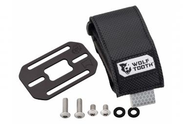 Correa Mediana Wolf Tooth B-RAD + Soporte para Accesorios Negro