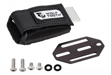 Wolf Tooth B-RAD Mini Strap + Accessory Mount Black