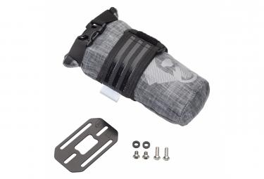 Sacoche de Cadre Wolf Tooth B-RAD TekLite Roll-Top Bag 0.6L + Plaque de Montage Gris