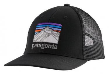 Casquette Patagonia Line Logo Ridge LoPro Trucker Noir Unisex