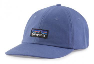 Casquette Patagonia P 6 Label Trad Bleu Unisex
