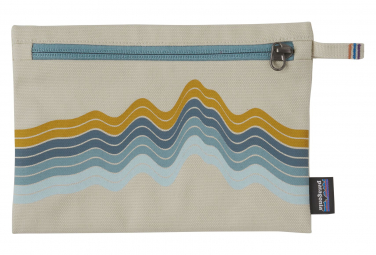 Trousse Patagonia Zippered Pouch Beige Unisex