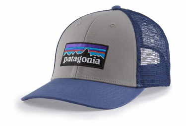 Casquette Patagonia P 6 Logo LoPro Trucker Gris Bleu Unisex