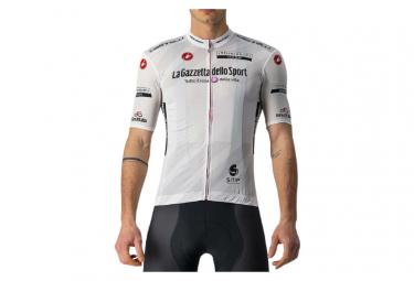 Maglia manica corta Castelli Giro 104 Competizione Bianco