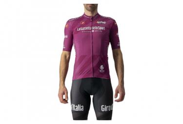 Maglia manica corta Castelli Giro 104 Competizione Ciclamino