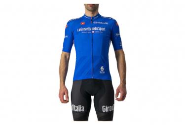 Maglia Castelli Giro 104 Competizione manica corta Blu